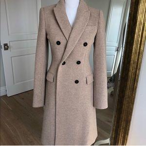 New Zara camel coat